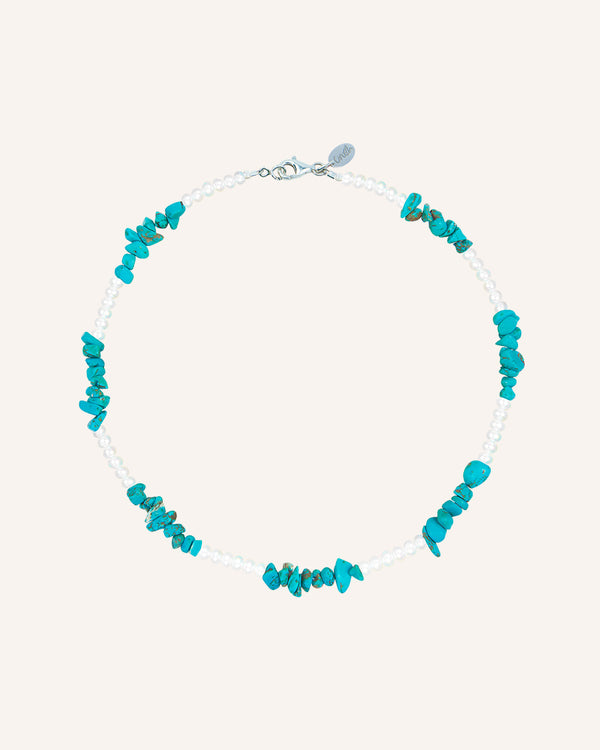 TURQUOISE CHIPS NECKLACE