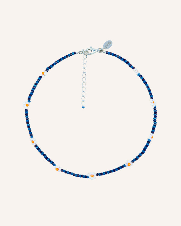 BLUE MOON SILVER NECKLACE