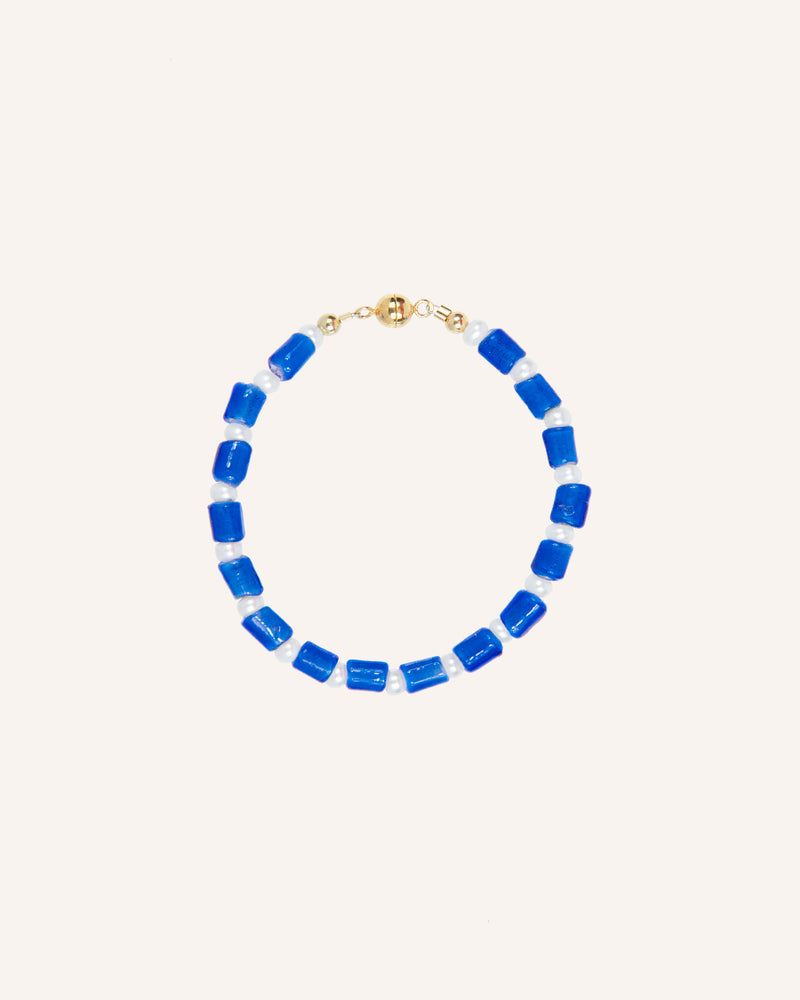 CRASQUI BLUE BRACELET