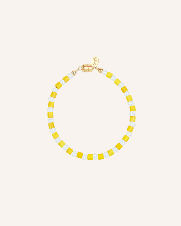 AMALFI YELLOW BRACELET