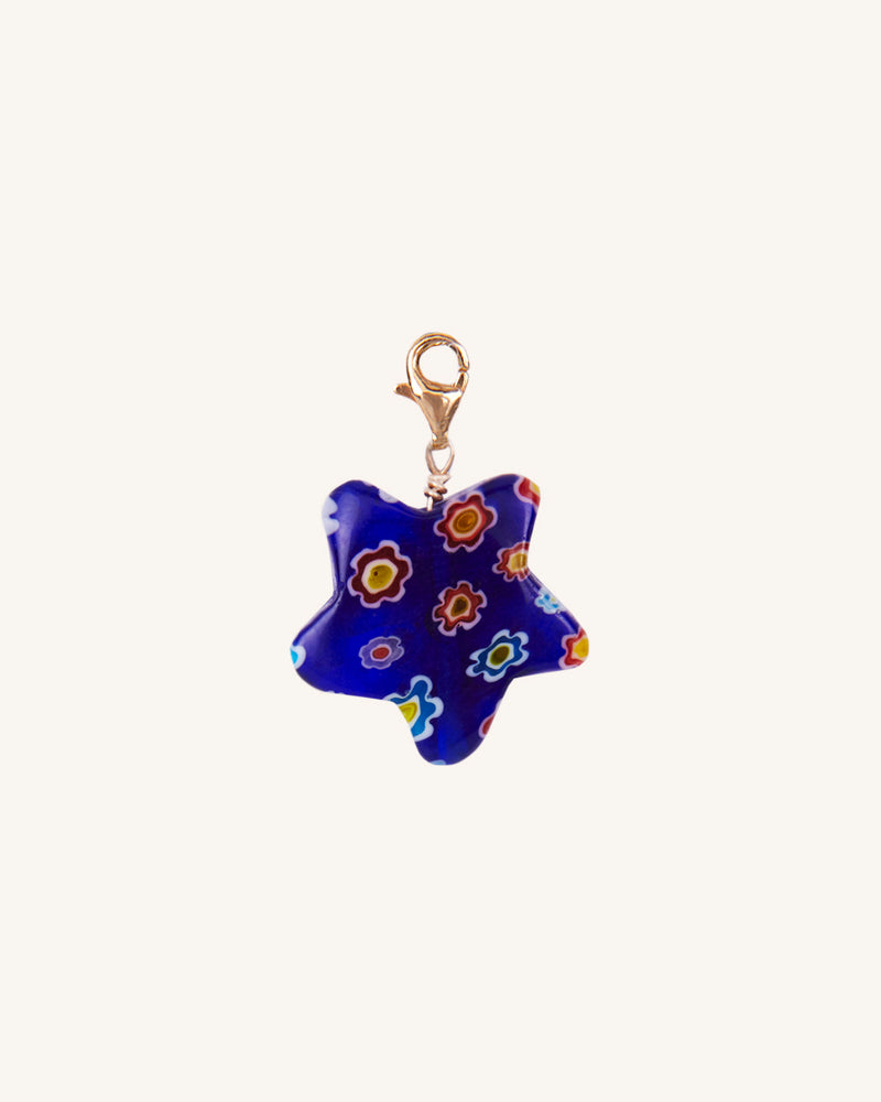 BLUE STAR CHARM/EARRING