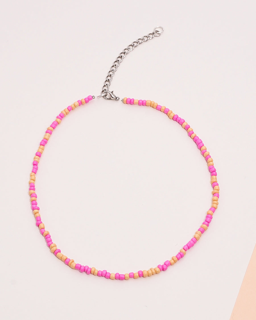 BUBBLE GUM NECKLACE