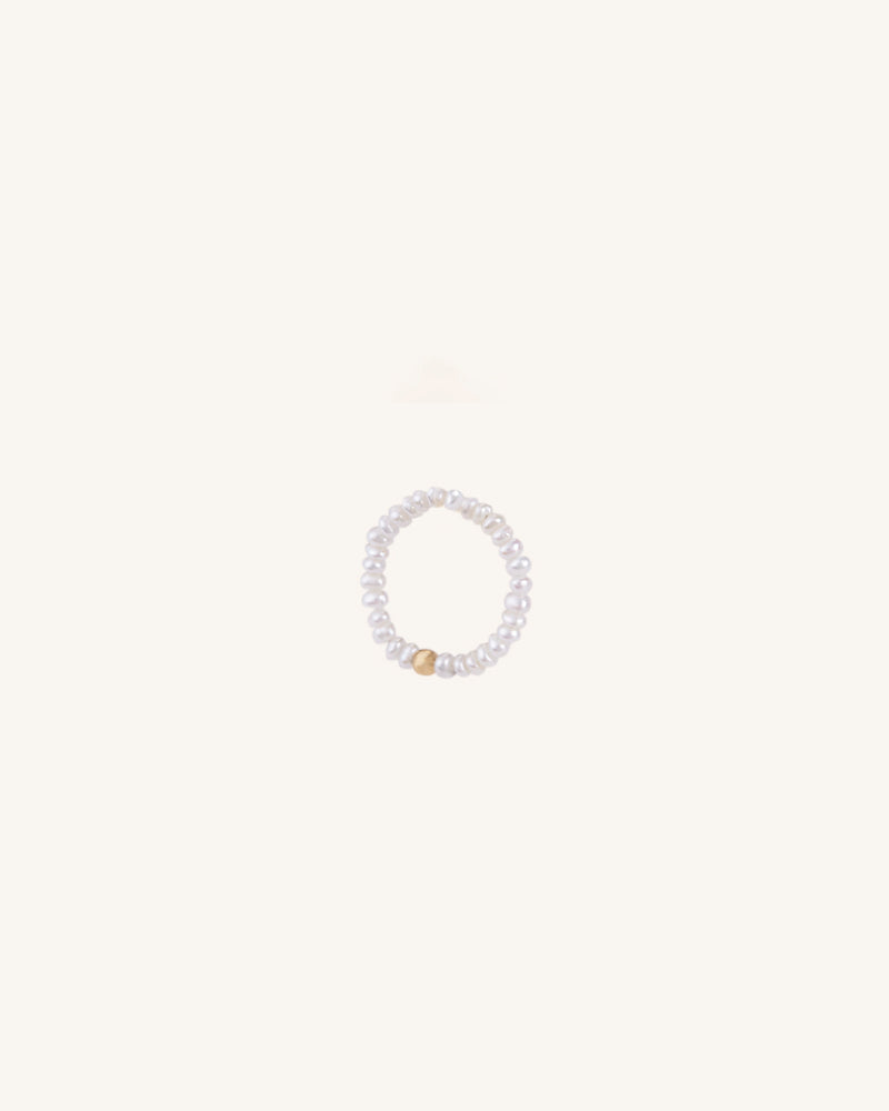 ENDLESS PEARL RING