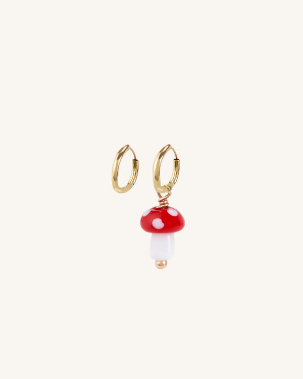 FUNGHI GOLD EARRINGS SET
