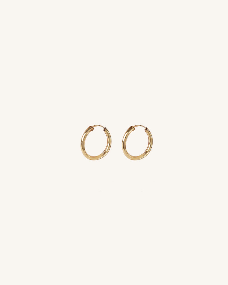 GOLD MINI HOOP EARRING