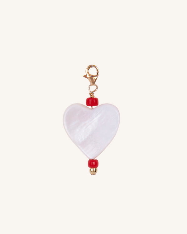 QUEEN OF HEARTS CHARM/EARRING