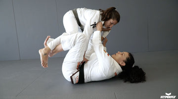 Ana Vieira Shows The Sweep She Used To Win A World Title
