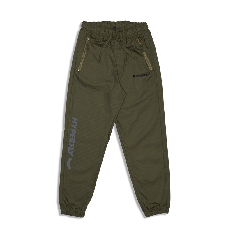 Active Jogger Pants KIMONO / GI DO OR DIE Olive X Small