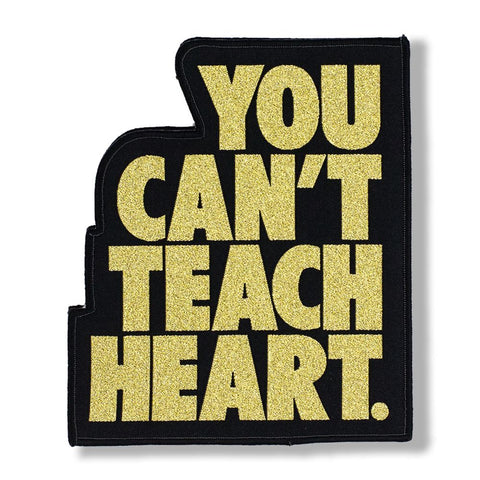 Black You Can't Teach Heart. Patch Patch DO OR DIE Gold YCTH