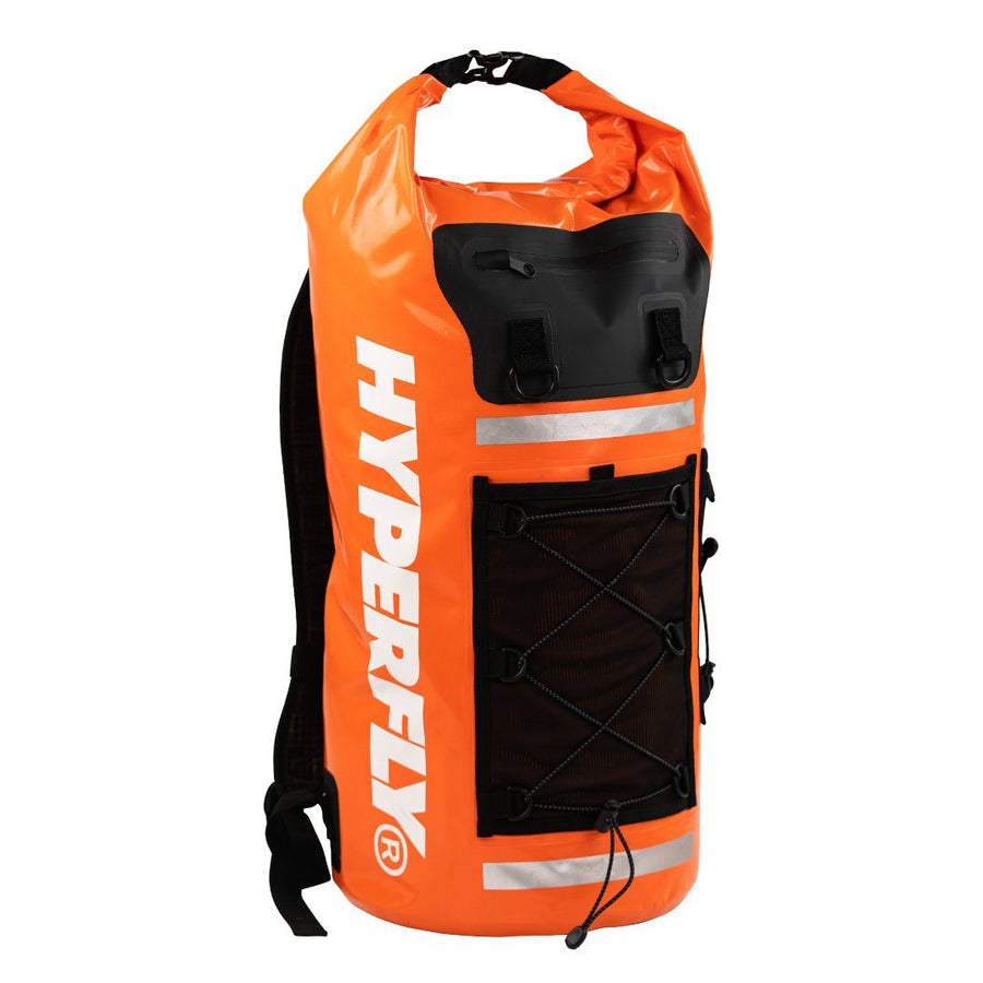FlyDry 35L Backpack Gear Bag Hyperfly Safety Orange