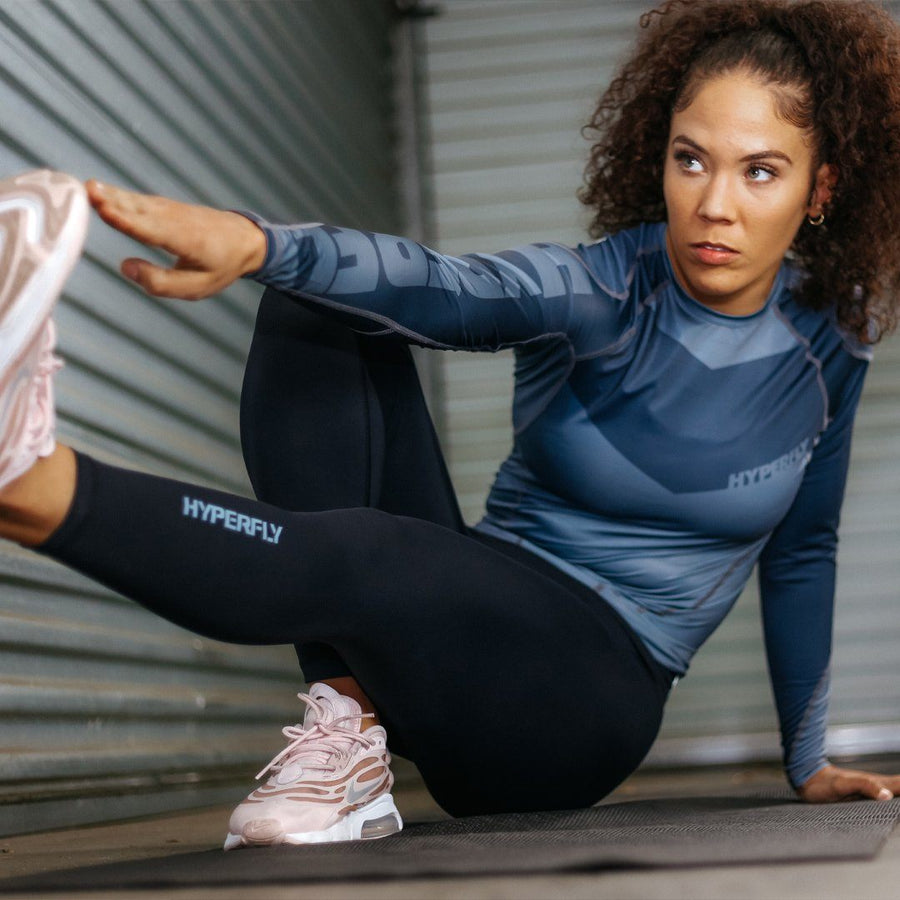 FlyGirl Athletic Leggings No Gi - Bottoms Hyperfly