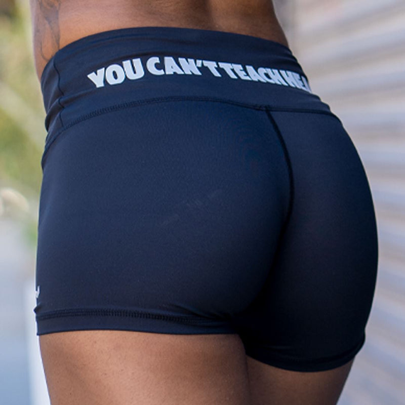 FlyGirl Booty Shorts Compression Hyperfly X Small