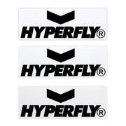 Hyperfly Bumper Sticker Sticker DO OR DIE Black on White (2)