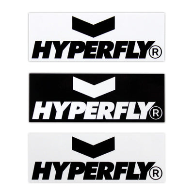 Hyperfly Bumper Sticker Sticker DO OR DIE Two Stickers of Each Color (4)