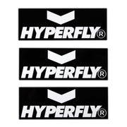 Hyperfly Bumper Sticker Sticker DO OR DIE White on Black (2)