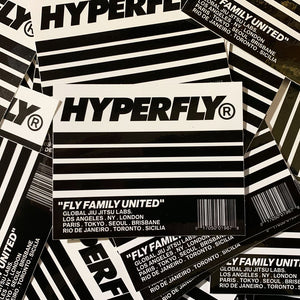Hyperfly Family Sticker Sticker DO OR DIE Black/White