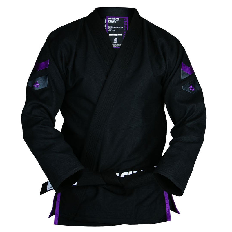 Hyperlyte 2.0 Black KIMONO / GI DO OR DIE Black w/ Purple A4