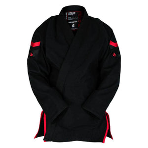 Hyperlyte 2.0 Black KIMONO / GI DO OR DIE Black w/ Red F0