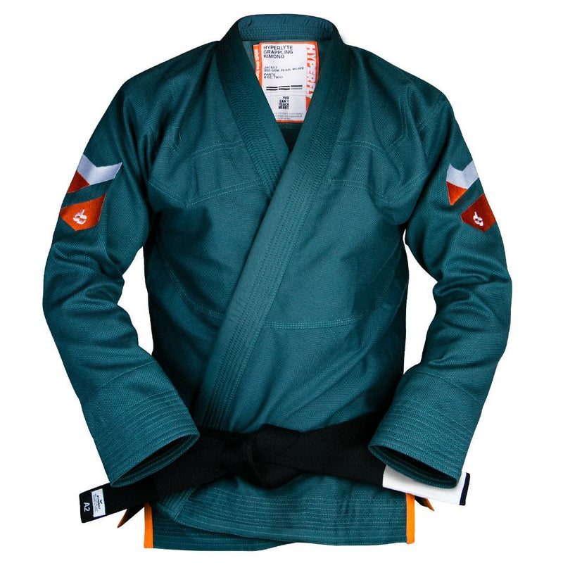 Hyperlyte 2.0 Teal KIMONO / GI DO OR DIE Teal with Orange A0