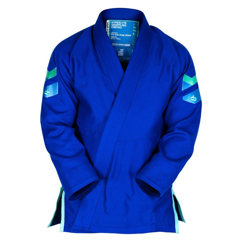 Hyperlyte Gi 2.0 Blue KIMONO / GI DO OR DIE Blue w/ Turquoise A1