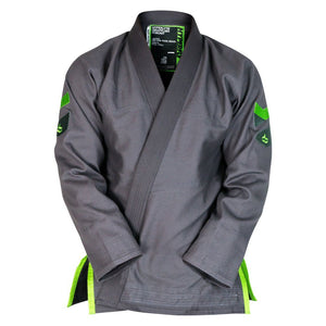 Hyperlyte Gi 2.0 Grey KIMONO / GI DO OR DIE Grey w/ Neon A0S