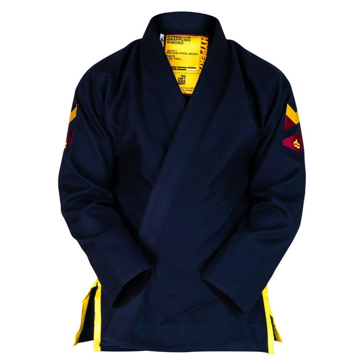 Hyperlyte Gi 2.0 Navy KIMONO / GI DO OR DIE Navy w/ Gold F0