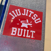 Jiu Jitsu Built Sticker Sticker DO OR DIE