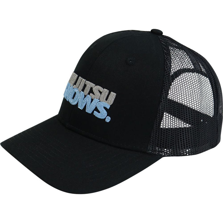 JIU JITSU KNOWS ® Snapback Cap Headwear DO OR DIE Black