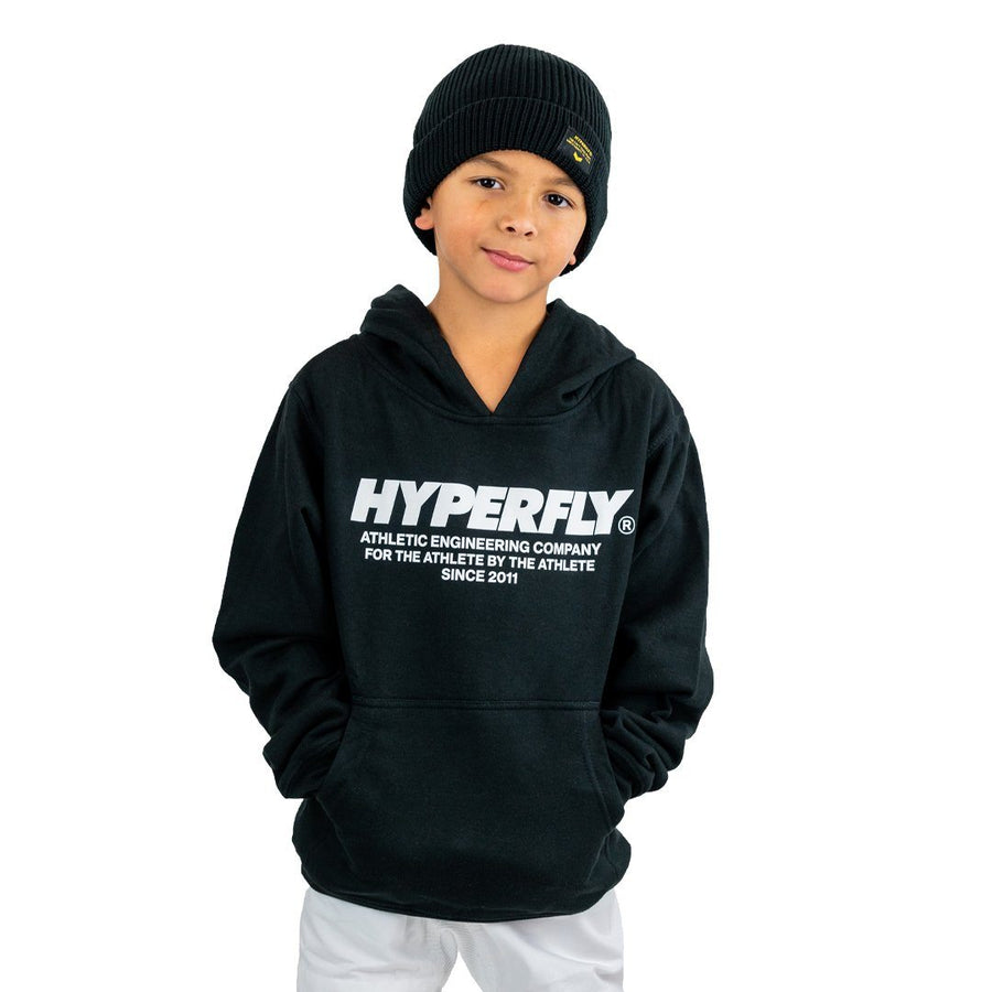Junior Engineered Hoodie Hyperfly Small