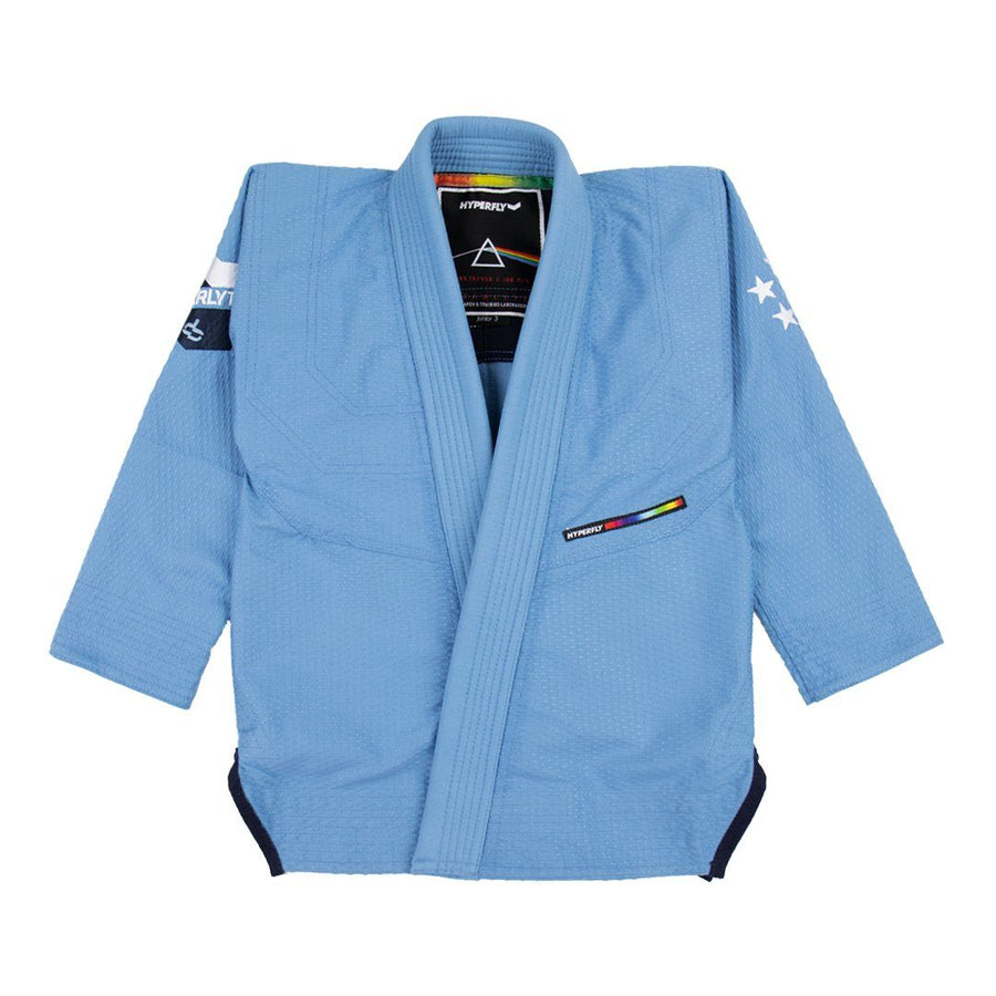 Junior Starlyte Colorant II Kimono - Junior Hyperfly Sky Blue J0