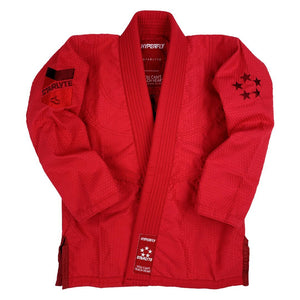 Junior Starlyte Red KIMONO / GI DO OR DIE Red J0
