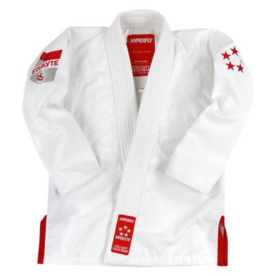 Junior Starlyte White KIMONO / GI DO OR DIE