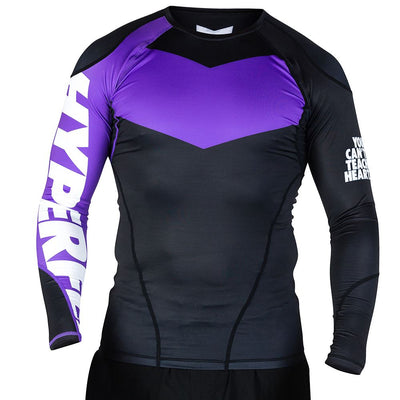 Long Sleeve Supreme Ranked Rash Guard II Rash Guard DO OR DIE Purple X Small