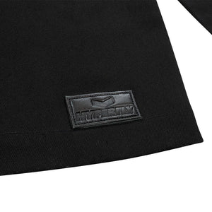 """Oni"" Black Kimono Jacket Apparel - Outerwear Hyperfly"