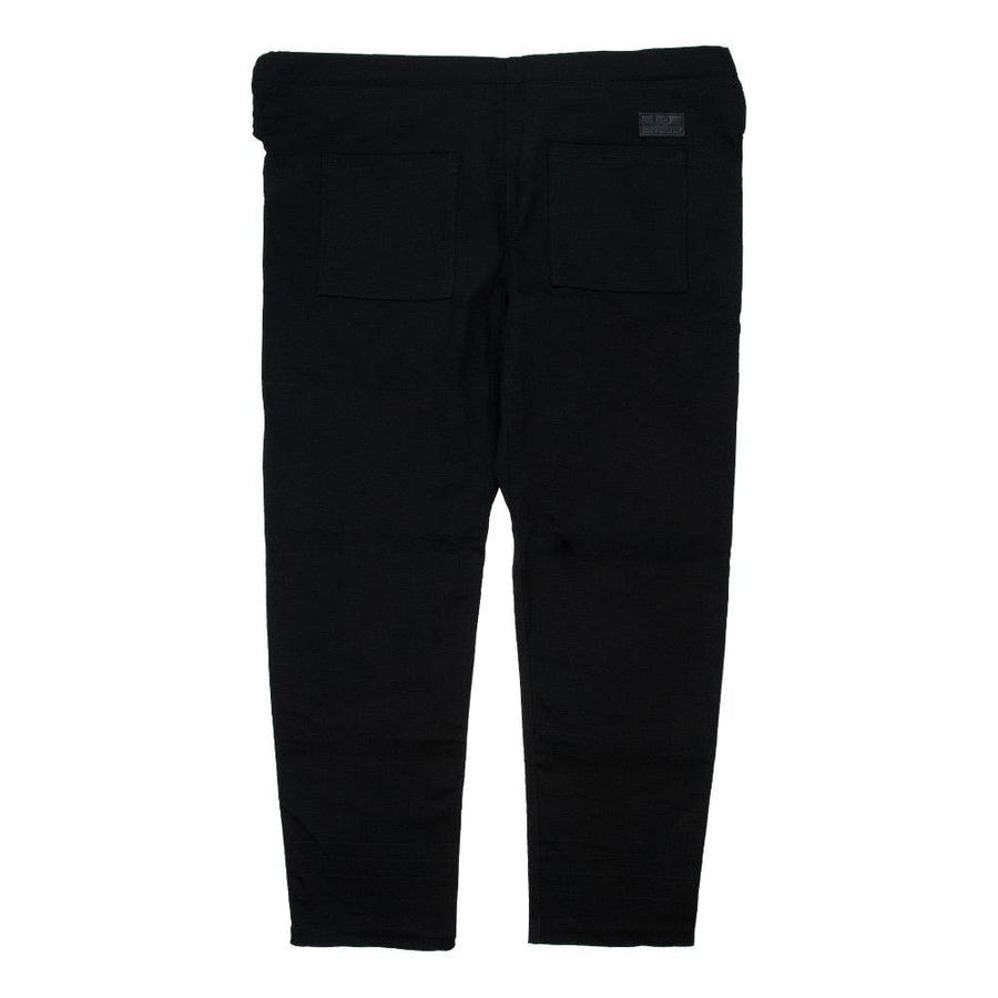 """Orta"" Black Kimono Pants Apparel - Bottoms Hyperfly"