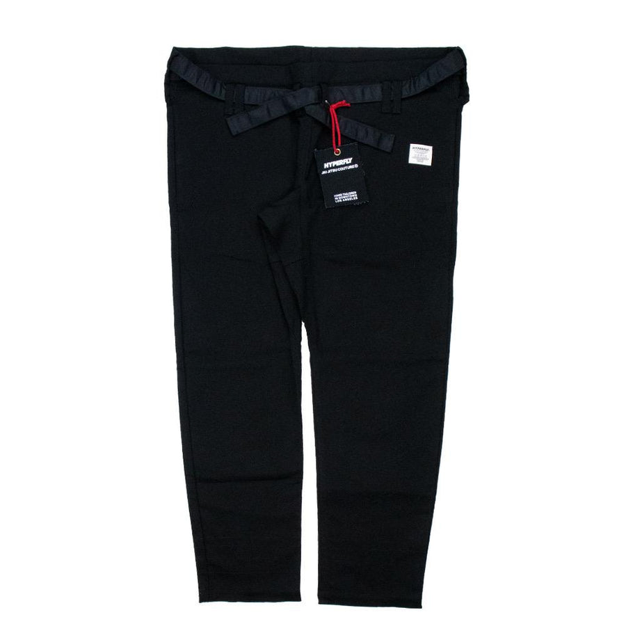 """Orta"" Black Kimono Pants Apparel - Bottoms Hyperfly Small"