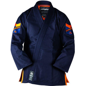 Premium 3.0 Navy Kimono - Adult Hyperfly Navy / Orange A0