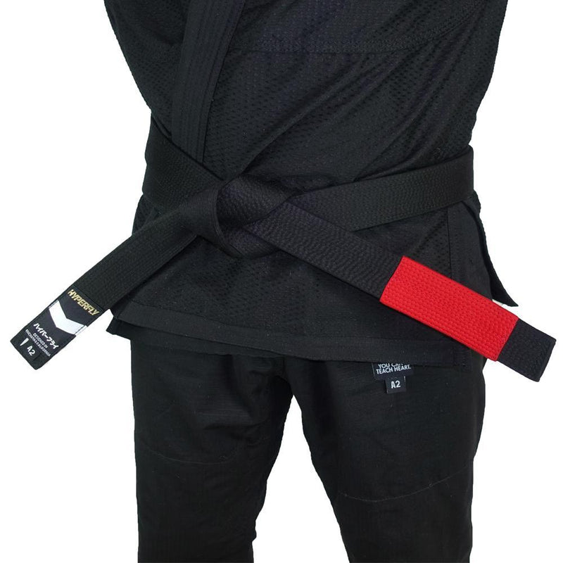 Premium Jiu Jitsu Belt Gi Belts DO OR DIE Black A0