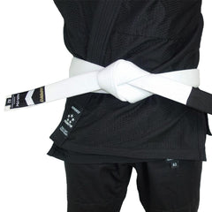 Premium Jiu Jitsu Belt Gi Belts DO OR DIE White A0
