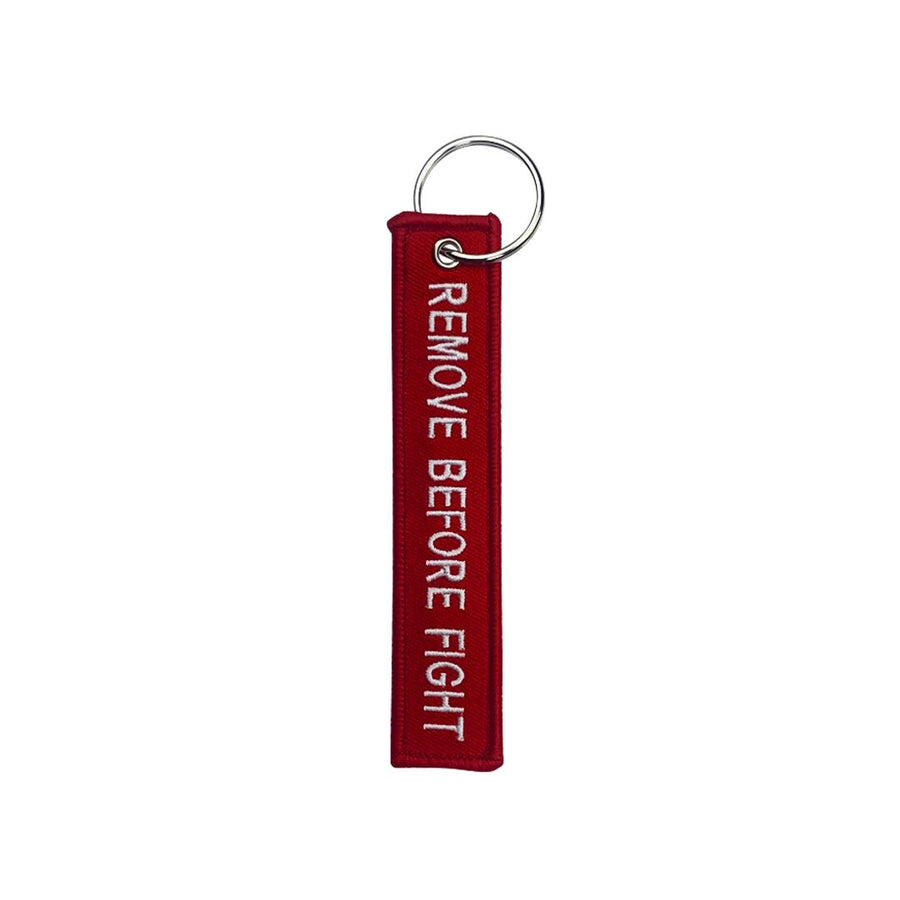 Remove Before Fight - Key Chain. Compression DO OR DIE Red 3 Pack