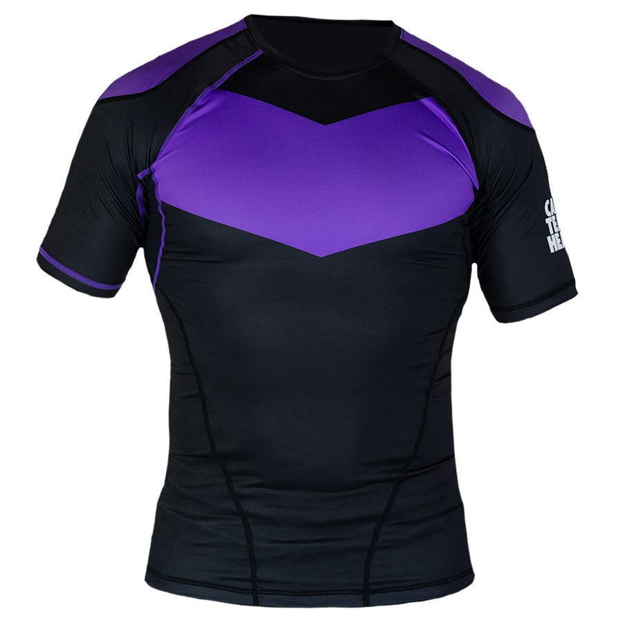 Short Sleeve Supreme Ranked Rash Guard II Rash Guard DO OR DIE Purple Large