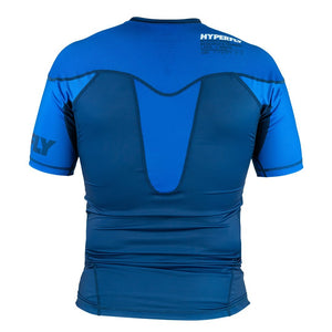 Short Sleeve Supreme Ranked Rash Guard No Gi - Rash Guard Hyperfly