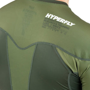 Short Sleeve Supreme Training Rash Guard No Gi - Rash Guard Hyperfly