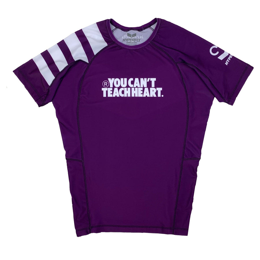 Short Sleeve YCTH. Ranked Rash Guard No Gi - Rash Guard DO OR DIE Purple Medium