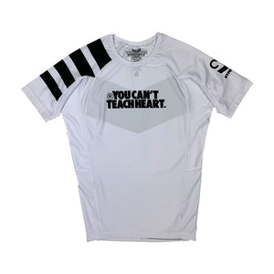 Short Sleeve YCTH. Ranked Rash Guard No Gi - Rash Guard DO OR DIE White X Large