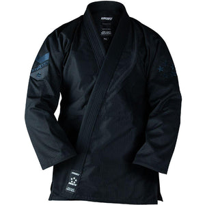 Starlyte Black KIMONO / GI DO OR DIE Black with Black F0