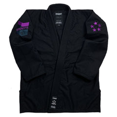 Starlyte Black KIMONO / GI DO OR DIE Black with Purple A0S