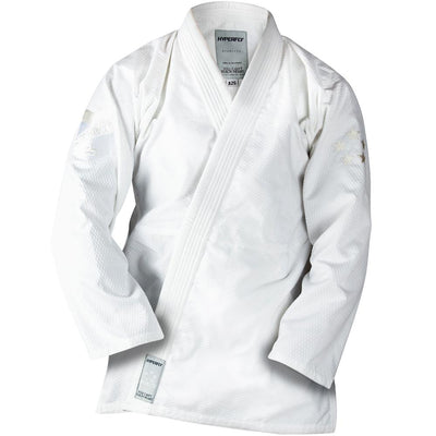 Starlyte Black + White Kimono - Adult DO OR DIE White w/ White F4