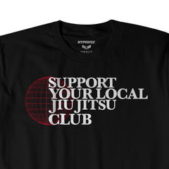 Support your local Jiu Jitsu Club Apparel - Tee Hyperfly