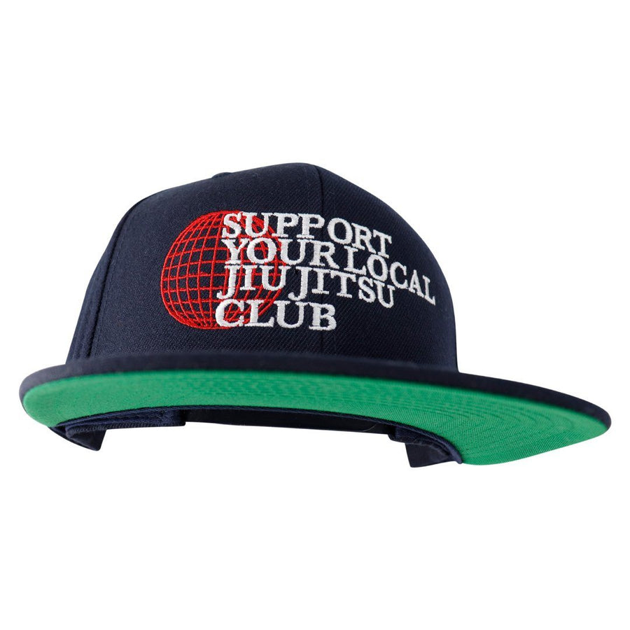Support Your Local Jiu Jitsu Club - Cap Apparel - Tee Hyperfly